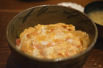 金目の卵とじ丼 bySAKE芯